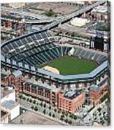 Coors Field Denver Canvas Print
