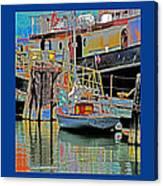 Coos Bay At Berth Canvas Print