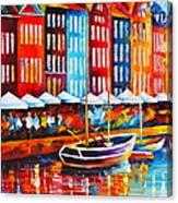 Copenhagen Denmark 2 Canvas Print