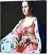 Copley's Abigail Smith Babcock Or Mrs. Adam Babcock Canvas Print
