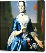 Copley's Anne Fairchild Bowler -- Mrs. Metcalf Bowler Canvas Print