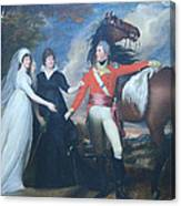 Copley's Colonel William Fitch And His Sisters Sarah And Ann Fitch Canvas Print