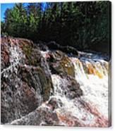 Copper Falls Canvas Print