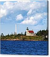 Copper Harbor Lighthouse Canvas Print