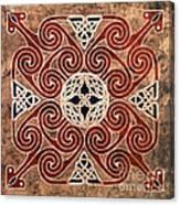 Copper Knot Canvas Print