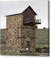 Copper Mine Enginehouse Canvas Print