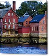 Copper Paint Building Canvas Print