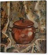 Copper Pot Canvas Print