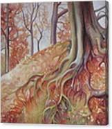 Copper Rustle Canvas Print