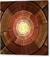 Copper Shield Canvas Print