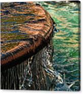 Copper Spill Canvas Print