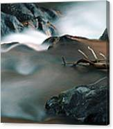 Copper Stream 2 Canvas Print