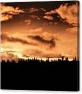 Copper Sunset Canvas Print