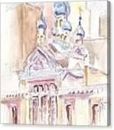Coptic Church Beaunos Aires Canvas Print
