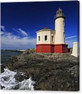 Coquille River Lighthouse 3 Canvas Print