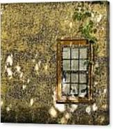 Coquina Door And Window Db Canvas Print