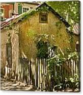 Coquina House Canvas Print