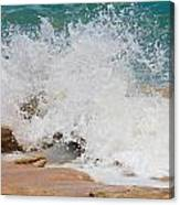 Coquina Waves Canvas Print