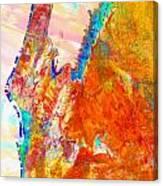 Coral Bay And Ningaloo Canvas Print