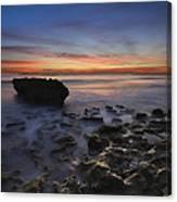 Coral Cove Beach At Dawn Canvas Print