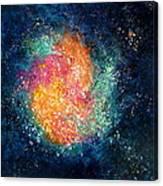 Coral Nebula Canvas Print