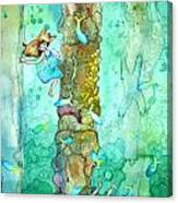 Coral Piers Canvas Print