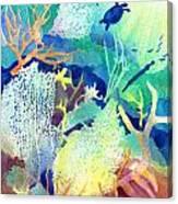 Coral Reef Dreams 2 Canvas Print