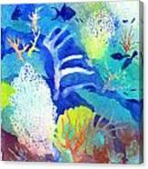 Coral Reef Dreams 3 Canvas Print