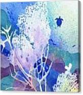 Coral Reef Dreams 5 Canvas Print