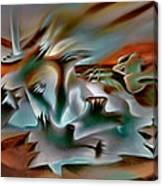 Coralscape  Canvas Print