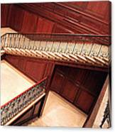 Corcoran Gallery Staircase Canvas Print