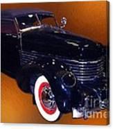 Cord Phaeton 1936 Canvas Print