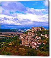 Cordes-sur-ciel France Canvas Print