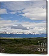 Cordillera Moore Canvas Print