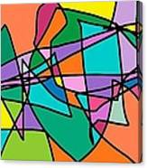 Corell Tiles Canvas Print
