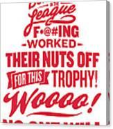 Corey Crawford Cup Speech Canvas Print