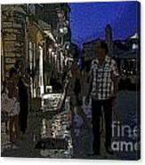 Corfu-86 Canvas Print