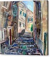 Corfu The Old Town . Canvas Print