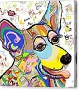 Corgi Cutie Canvas Print