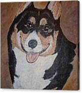 Corgy Canvas Print
