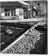 Corinth Station Canvas Print