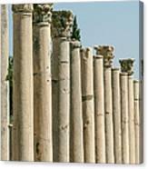 Corinthian Columns In Turkey Canvas Print