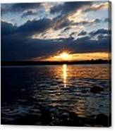 Cork Harbour Sunset Canvas Print