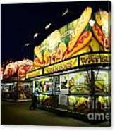 Corn Dog Kiosk Canvas Print