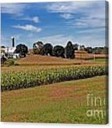 Corn Farmer Canvas Print