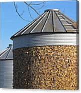 Corn Storage Canvas Print