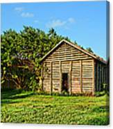 Corncrib In Afternoon Light Canvas Print