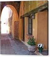 Corner Arch, Mission San Juan Capistrano, California Canvas Print