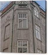 Corner Building Helsingborg 02 Canvas Print