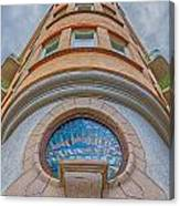 Corner Building Helsingborg Canvas Print